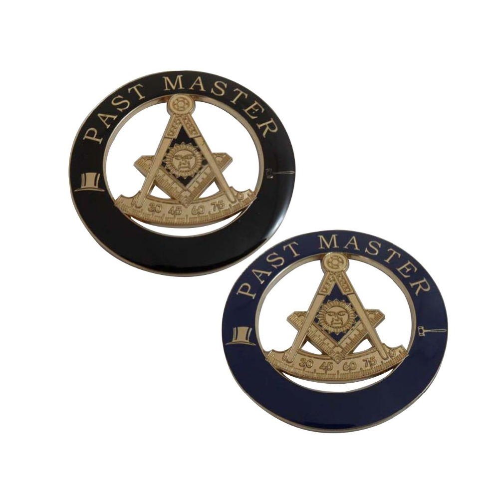 popular color metal zinc alloy masonic car badge emblems