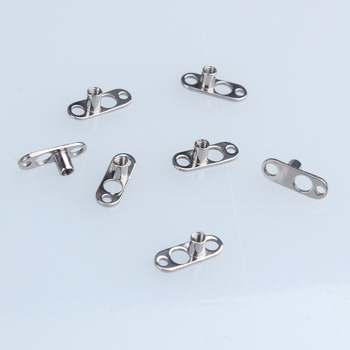 14g High Polish Titanium Microdermal Anchor Body Jewelry With 2mm Rise Unique 3 Hole Base Buy Titanium Microdermal Anchor Titanium Microdermal Microdermal Anchor Body Jewelry Product On Alibaba Com