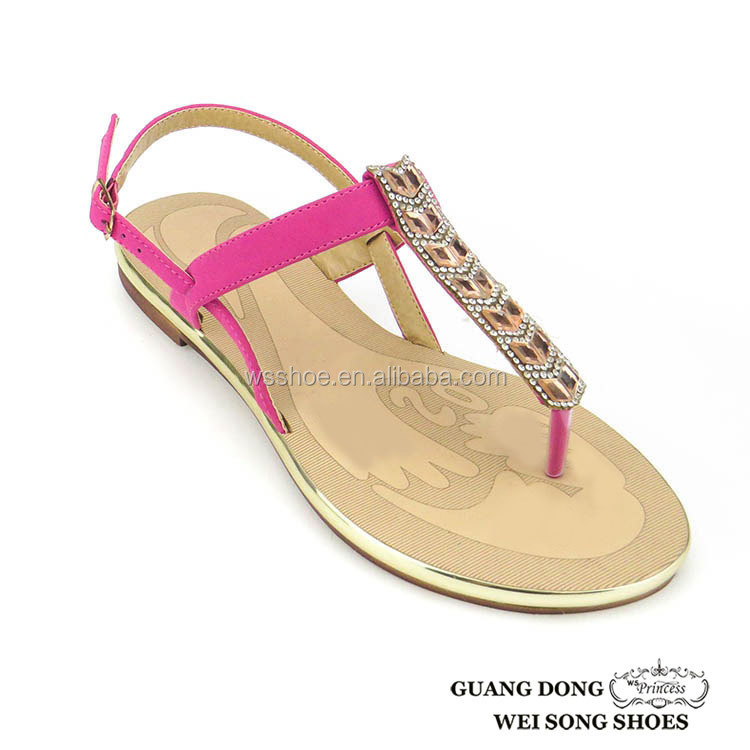 35827b096dc574 New Model Rhinestone Ornament Upper For Sandal With Stones Casual Insole  Leather Fancy Woman Sandal For - Buy Upper For Sandal With Stones