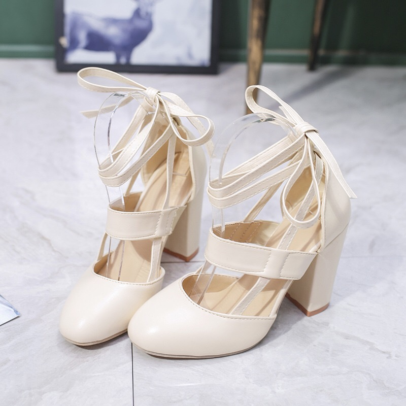 2018 Fashion Sexy Gladiator High Heels 8CM Women Pumps Wedding Dress Shoes Valentine Stiletto Ladies High Heel Shoes