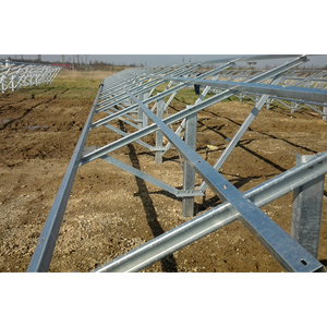 1MW high quality ground mount solar pv panel mounting racks
