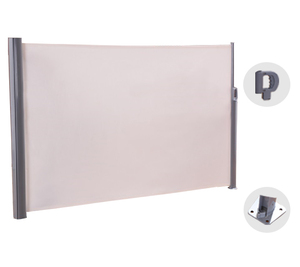 Outdoor Garden UV Protect Retractable Side Pull Vertical Awning