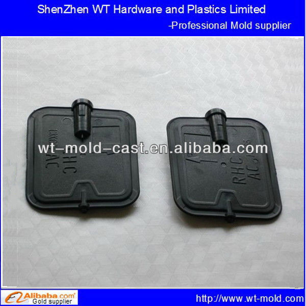 Automotive air-conditioning outlet valve injection mold