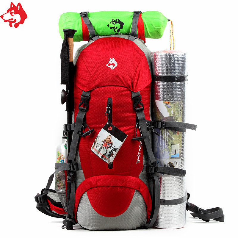 strong camping set camping hiking backpack for travelling backpack custom bag