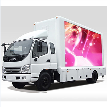 Vertical Rear Window Digital Screen Advertisement P4 P5 P6 Three Side Different Brand Led Display Advertising Car