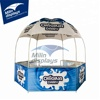 Heavy duty steel frame dome shape promotional outdoor trade show tent 3x3