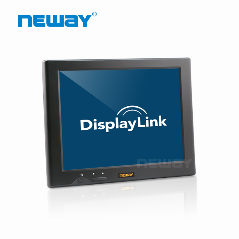 8 inch LED Backlight 4:3 type displaylink LCD Touch Monitor with MAC OS