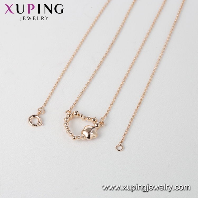 00671 xuping gold plated luxury heart pendant, crystals from Swarovski,