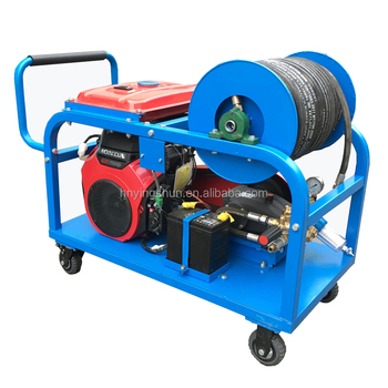 2019 CE new 500bar 15L water jet drain pipe sewer cleaning machine high pressure cleaner