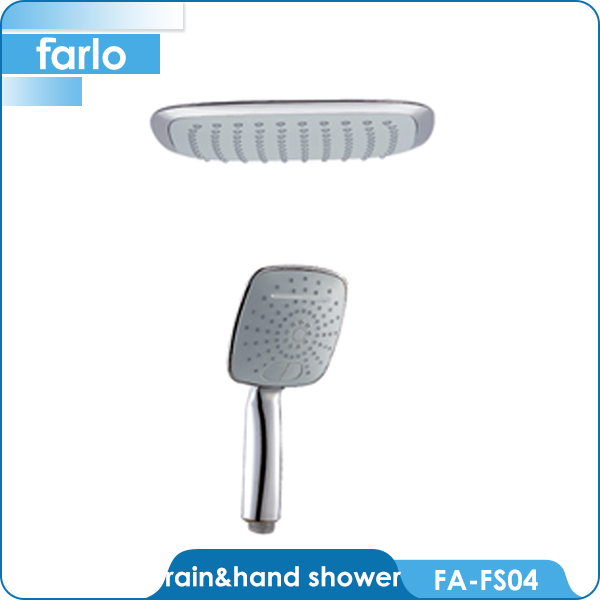 FARLO Bathroom rainfall inch kids shower head