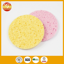 Round shape dish cellulose sponge with high quality