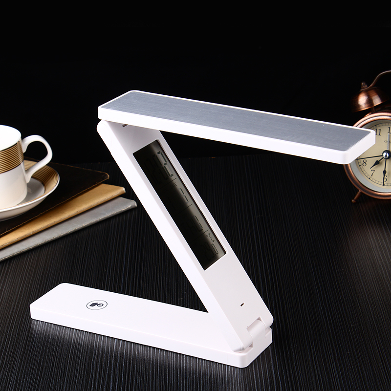 Smart Folding Rechargeable Eye Protection Book Reading Quran Led Lamp with Screen Display