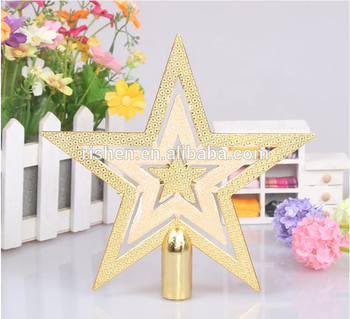 2018 Hot Selling Christmas Star Decorative 10cm 15cm Plastic Outdoor Tree Topper Buy Outdoor Tree Topper Decorative Plastic Stars Large Plastic