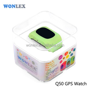 Children gifts GPS tracker watch phone LBS+GPS location with SOS button and global map