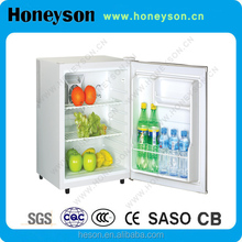 Honeyson high quality hotel no frost mini bar fridge in living room