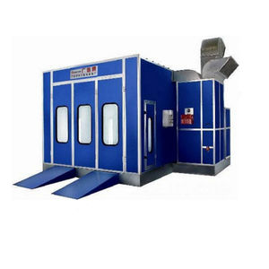Water Based Paint Spray Booth WX-DDE-1 Manufacturer from China