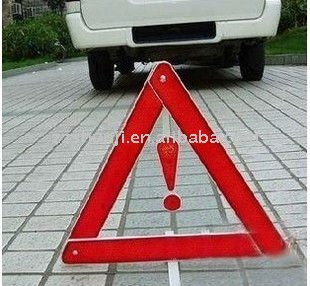 Road Reflective Traffic Triangle Safety Sign