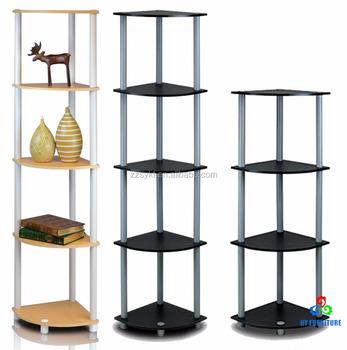 Living Room Wood Corner Shelf Storage Shelving Units Wholesale ...