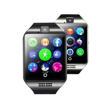 2018 Ebay Wish Amazontop Sell Q18 Smart Watch For Apple Iphone Ios And For  Samsung Android Smartphone Mobile Phone - Buy Smart Watch,Smart Watch