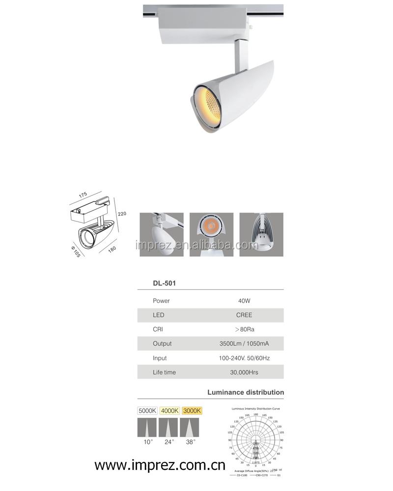 Led Schienenlicht 30 Watt Cob Decke Schiene Lichter Für Anhänger ...