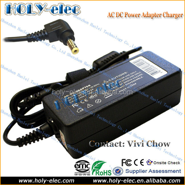 Laptop Power AC Adapter Charger Compatible for IBM Lenovo IdeaPad U130 S9 S10 S205 S405 U260 series