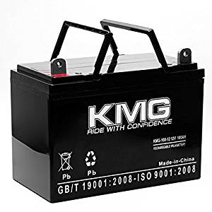 KMG 12V 100Ah Replacement Battery for Universal Battery UB12900