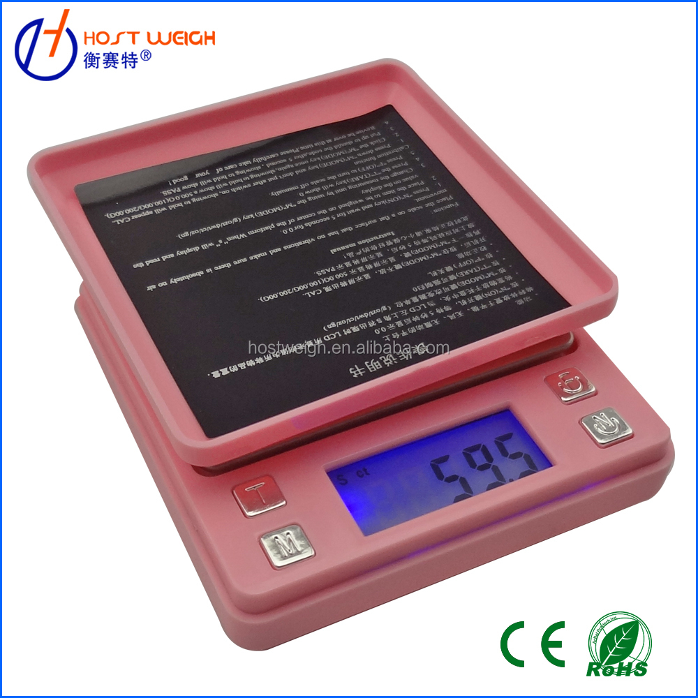 Capacity:100g-1000g Pocket weigh balance Scale