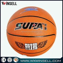 2013 8 pannels size 7 best quality laminated basketballs