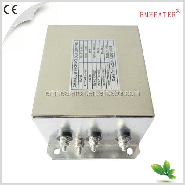 3pH Low Pass Rfi EMC EMI Line Filter (EM-FIT3)