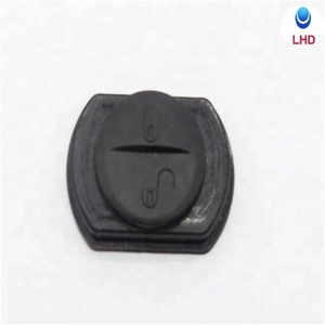 Auto key 2 button remote key shell button replacement rubber pad For Mitsubishi blank key pad