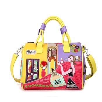 Карамельный цвет сумки Высокое качество модные итальянские кожаные  известных брендов стильный женский сумка 266d6f47dd2ff