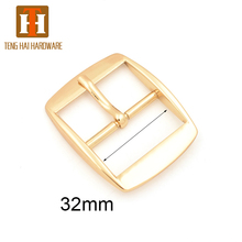 Handbag hardware adjustable belt buckle webbing buckle for strap