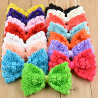 Latest Toddler Kids 12CM Bow Hair Clip Children Girls DIY Hair Accessories Large Bow