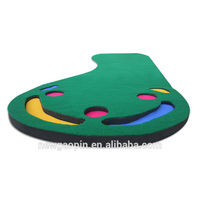 Novelty High Quality Mini Golf Putting Green Trainer Carpets Customized