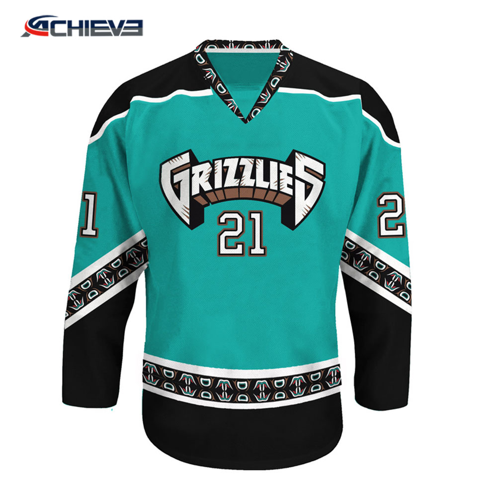 Team Set Custom Hockey Jerseys Funny Hockey Jerseys - Buy ... 8a323b5bb8c