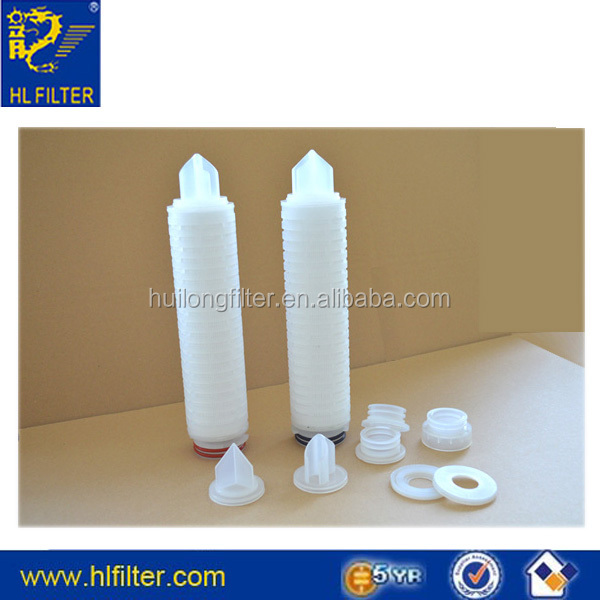 pleated filter cartridge 5 micron for RO