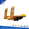 Large capacity heavy duty equipment transport low boy semi trailer on hot sale