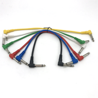 Electric guitar bass shielding noise reduction cable