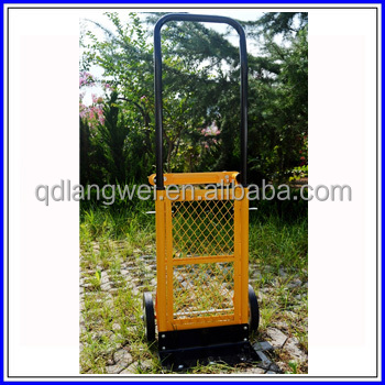Heavy duty foldable two wheel hand trolley cart