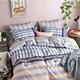 Carton sence printed bedding set plain color duvet cover 100% bedding comforter sets 200TC