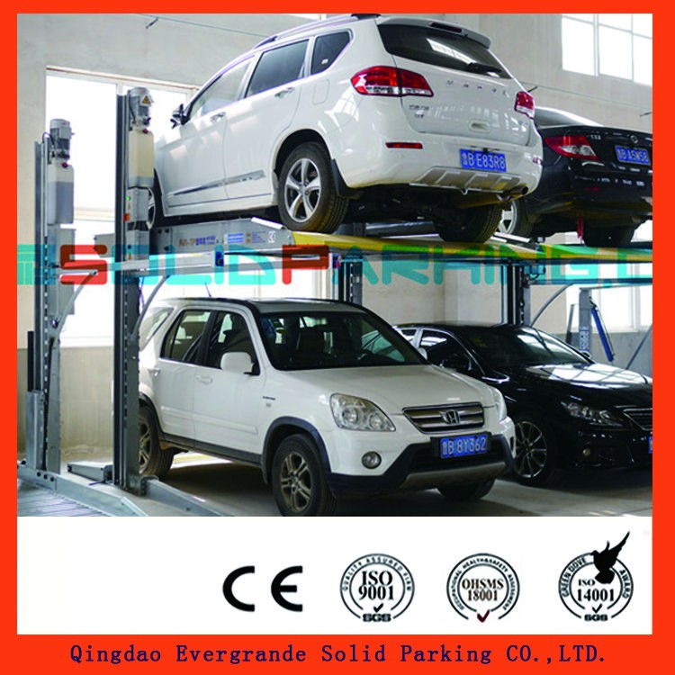 Limited Time Offer 15% Discount for 2 Post Till 1.31 2017 Newest Finish 3 Years Parts Warranty two post double parking car lift