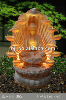 Cheap Price Table Top Small Waterfall Fountain Buddha Water Fountain Indoor