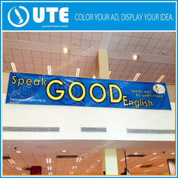 Promotional Vertical Banner Size Outdoor Advertising Vinyl Banner - Vertical vinyl banners