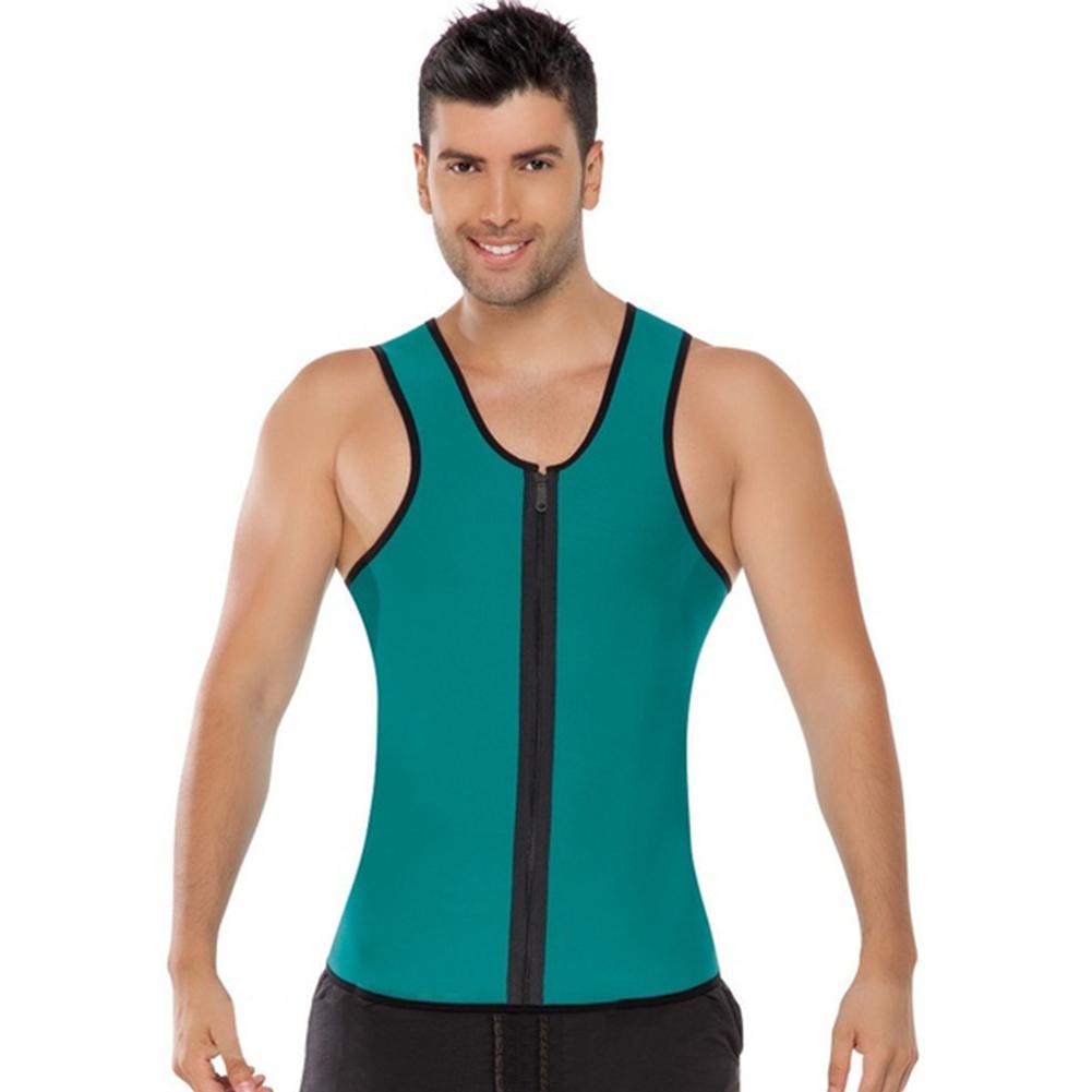 430b9bea8d8 2019 Wholesale Men Sport Shapers Weight Loss Corset Tummy Slimming Spandex  Waist Cincher Waist Training Body Shaper Vest Corset Mens Bodysuit From  Huangcen