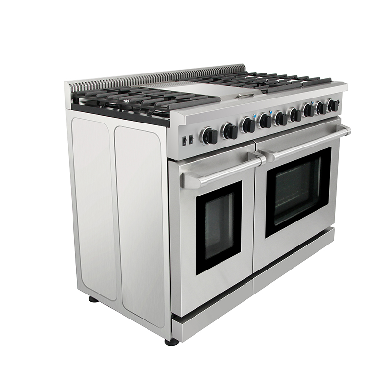 Stainless steel 5 burners kitchen king gas stove