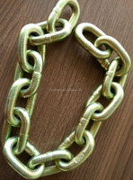 colorful zinc plated low carbon steel short link chain