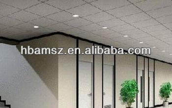 Mineral Fiber Lightweight Material Garage Ceiling Panels