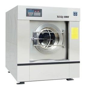 100kg laundry washing equipments in hotel industry washing drying ironing and folding