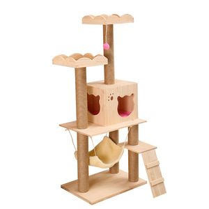 large luxury Cat wood Furniture the cat climb Tower tree
