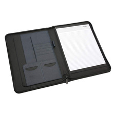 Office Supply PU หนังซิป Padfolio